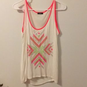 Tops - Top with neon colors